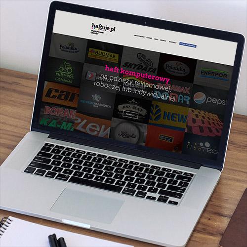 haftuje.pl strona www mobilna RWD