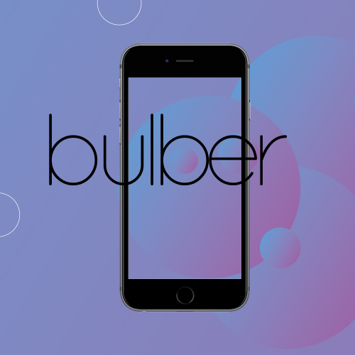 bulber – logo aplikacji mobilnej