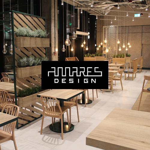 AMARES DESIGN – logo, branding, identyfikacja wizualna