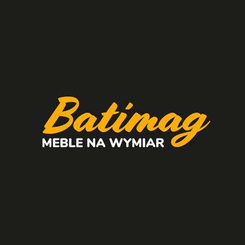 Batimag – logo, oklejanie pojazdu, wizytówki.