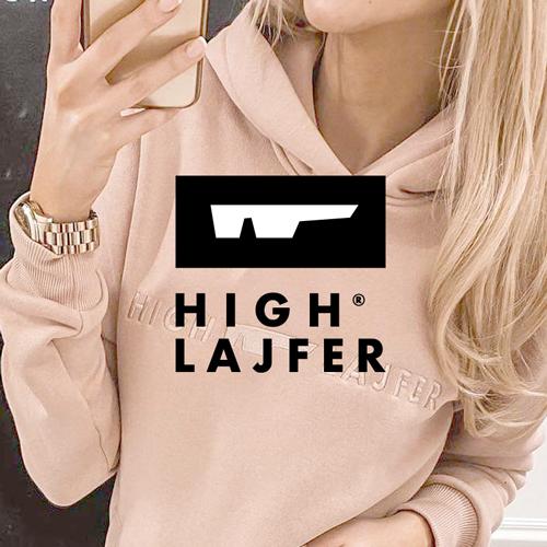 HIGH LAJFER® – Logo marki odzieżowej, branding